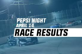 Pepsi Night Race Results – Larry King Law's Langley Speedway