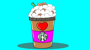 How To Draw Starbucks Frappuccino