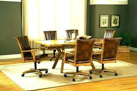 Rolling Dining Room Chairs Swivel Tilt Dining Chairs Tags Rolling