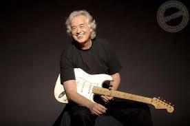 Jimmy Page Led Zeppelin White Fender Stratocaster John Paul Jones