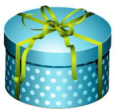 Blue t with bow open closed clipart transparent background