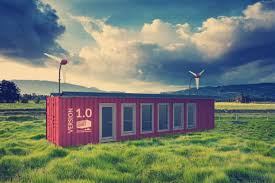 100 Off Grid Shipping Container Homes Sustainer Creates Green Offgrid Homes From Shipping