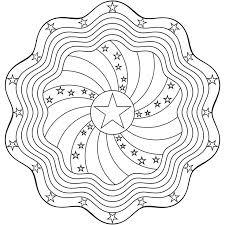 Coloring Pages Mandala Printable Flower Mandalas For Art