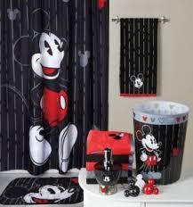 mickey tuxedo bath ensemble mickey mouse bathroom disney