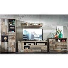 lomadox wohnwand branson 36 vintage driftwood braun bxhxt ca 374x188x52cm
