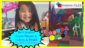 Picasso Magnetic Tiles 100 by Magna Tiles Best Learning Toy Ever Build Learn Shapes Colors