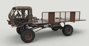 100 Truck Model Mongo Heist 3D In 3DExport