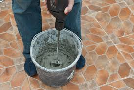 how to mix tile adhesive howtospecialist how to build step by