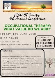 100 Isbu For Sale LSBU OT Society On Twitter LSBU OT Society Conference Tickets Are