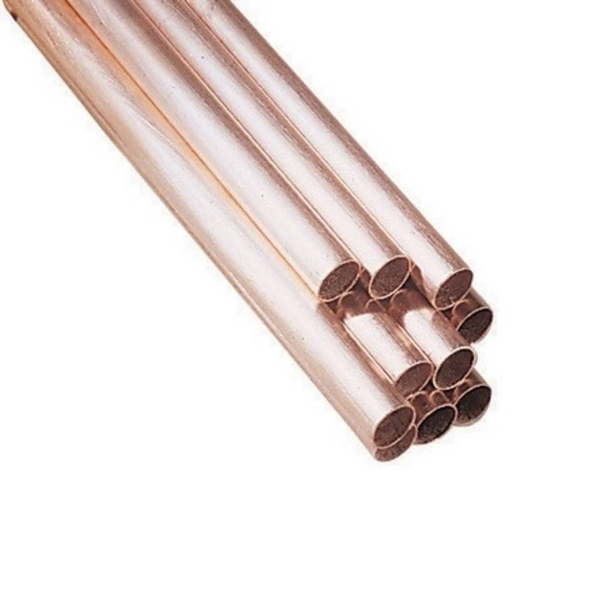 Short Cut Type M Rigid Copper Pipe - 3pk