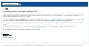 visa bureau australia australia working visa subclass 417 assessment my year