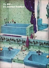 52 best 50 s bathrooms images on bathroom retro