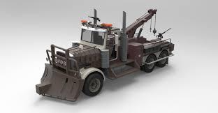 100 3d Tow Truck Games Truck From Terminator Salvation 3D Model In 3DExport