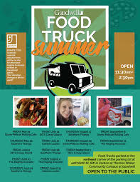 Food Truck Summer! - Non-Profit Organization Thrift Store - Ohio ...