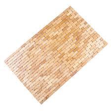 badematte badvorleger badteppich bambusmatte duschmatte duschvorleger aus bambus haushaltswaren möbel und freizeitartikel günstig kaufen auf