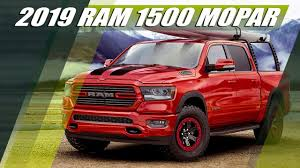 New 2019 Dodge RAM 1500 MOPAR Accessories - YouTube