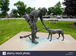Statue ing Home by Larry Anderson at the Ohio Veterans Home in