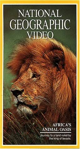 Vhs: National Geographic Africa's Animal Oasis