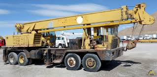 100 Truck Mounted Cranes Grove TM250 25ton Telescopic Boom Crane SOLD