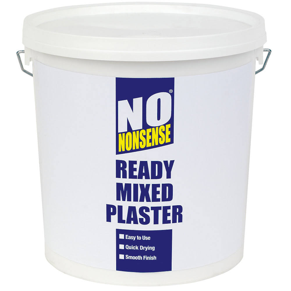 No Nonsense Ready Mixed Plaster White 10kg (23226)