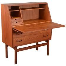 Drop Front Secretary Desk by Viyet Designer Furniture Office Mid Century Modern Danish
