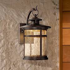 callaway rustic bronze 11 1 2 high led outdoor wall light
