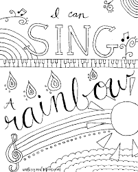 Relax Color Free Printable Stunning Music Coloring Pages