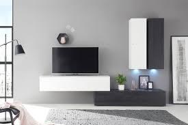 mäusbacher wohnwand 4 boster schwarz weiß möbel letz
