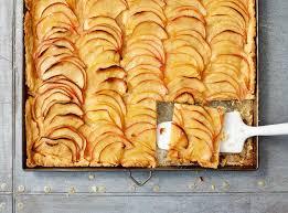 französischer apfelkuchen der klassiker vom blech