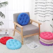 runde 40x40cm weiche stuhlkissen sitzkissen für esszimmer garten