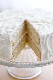 white cake missing a slice