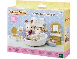 sylvanian families einrichtung badezimmer im landhausstil 5286