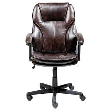 manager s chair roasted chestnut brown serta target