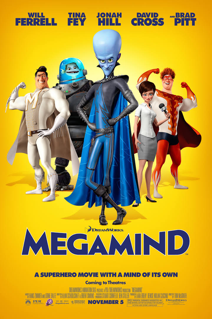 Megamind 2010 Full Movie HD Download Bluray 480p And 720p