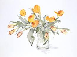 Drawn Bouquet Flower Watercolor 2