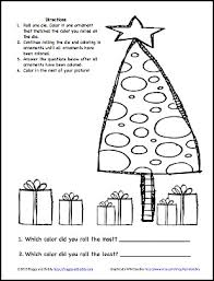 Christmas Learning Activity Color The Ornaments Free Printable