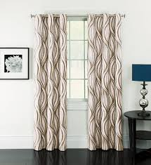 Curtains With Grommets Pattern by Amazon Com Window Accents Celestina Wave Jacquard Grommet Panel