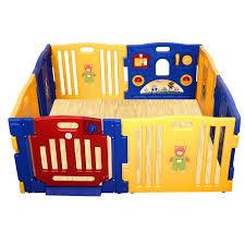 Foam Floor Mats Baby by Amazon Com Costzon Baby Play Pen Kids Safety Playpen Activity