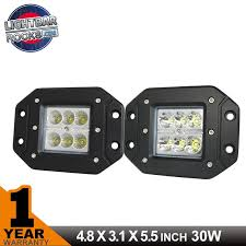 30w cree flush mount led cube pod light bar light bar rocks