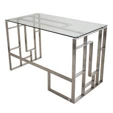 Tempered Glass Computer Desk by Appealing Tresanti Tech Desk Tempered Glass Top Images Decoration