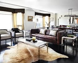 dark brown leather couch living room ideas centerfieldbar com