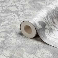 Metallic Tile Effect Wallpaper by Metallic Bedroom Wallpaper Diy