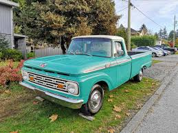 1964 Ford F100 For Sale | ClassicCars.com | CC-1163614 1964 Ford F100 Truck Classic For Sale Motor Company Timeline Fordcom Coe A Photo On Flickriver F250 84571 Mcg Antique F350 Dump Vintage Retro Badass Clear Title Ford Custom Cab Truck Two Tone 292 Y Block 3speed With Od 89980 81199 Hemmings News Pickup 64 F600 Grain As0551 Bigironcom Online Auctions 85 66 Econoline Pick Up Sale Trucks