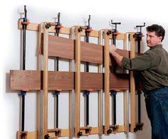 large table top glue up clamp set up woodworking talk