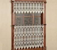 White Lace Curtains Target by Craft Ideas Using Lace Picture Window Curtains Kitchen Hanging