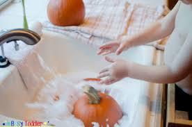 Books About Pumpkins For Toddlers by Pumpkin Bath Busy Toddler