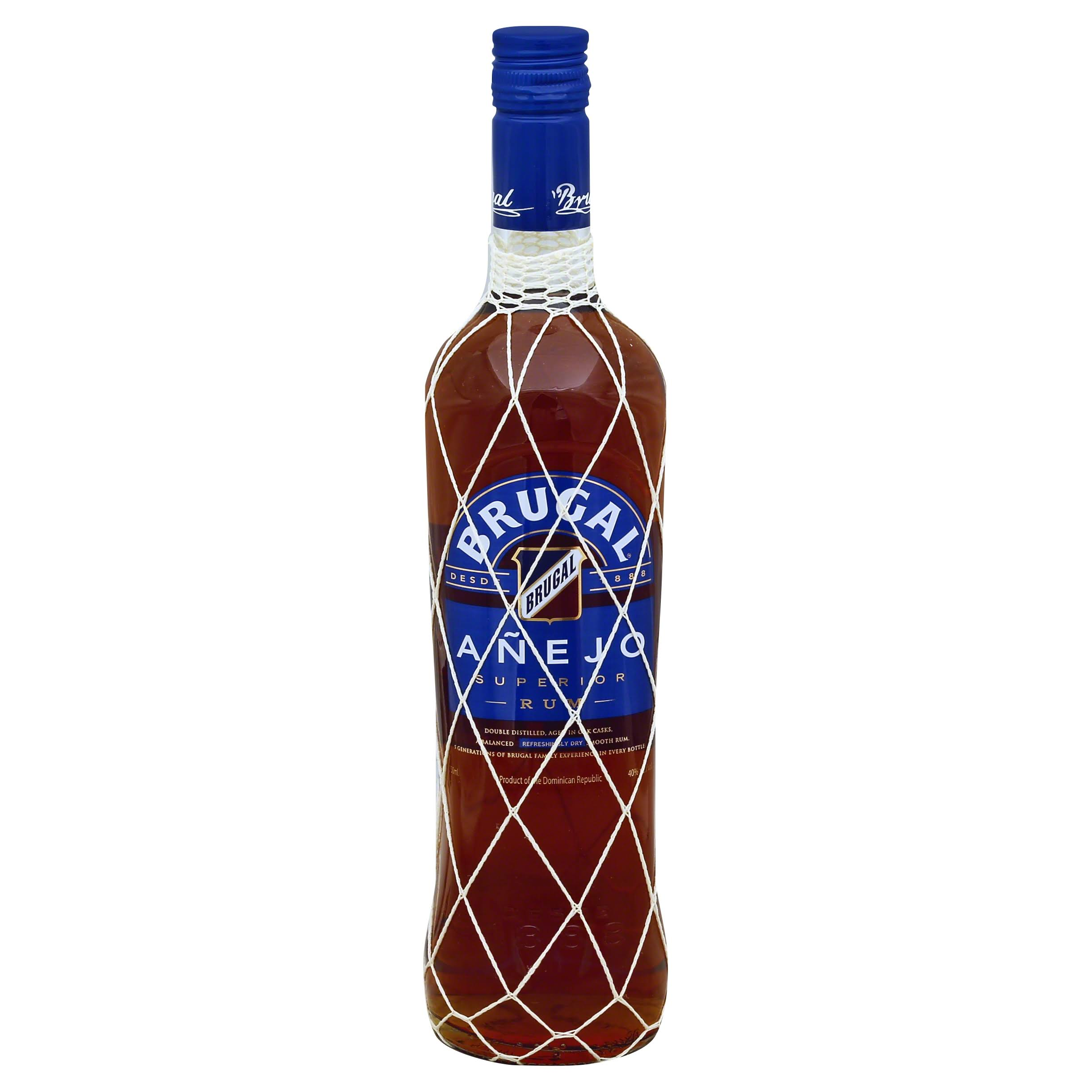 Brugal Anejo Rum - 750 ml bottle