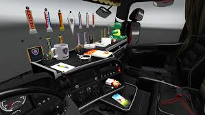 ADDONS FOR CABIN ACCESSORIES (UPDATED) V3.7 ETS2 -Euro Truck ...