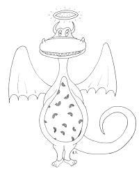 Angel Dragon Original Art By Rachael Selk