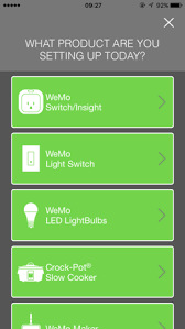 Choose From The List Wemo Switch And Follow Steps Plug In Swicth Wi Fi Network Your Phone Return App